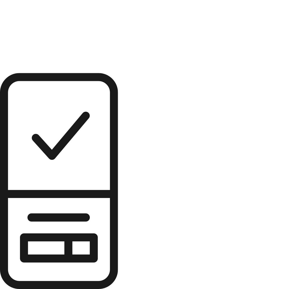 An illustrated black and white icon depicting the Live Platform wellness app