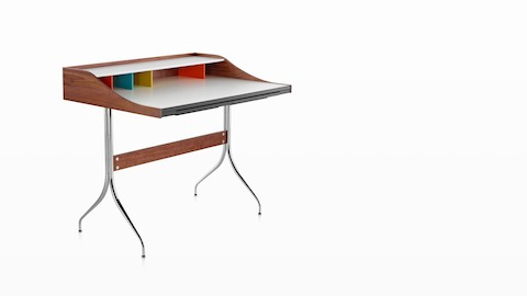 A Distil Desk, viewed from an angle. Select to go to our desks page.