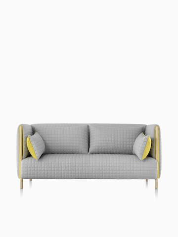 Gray ColourForm Sofa.