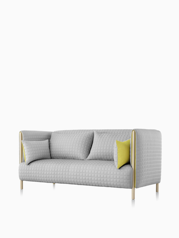 Gray ColourForm Sofa. Select to go to the ColourForm Sofa Group product page.