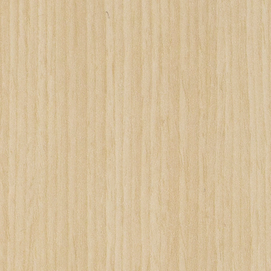 A close-up view of Woodgrain Laminate Clear on Ash LBA material.
