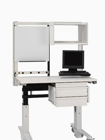 A mobile technology and supply cart from the Co/Struc System. Select to go to the Co/Struc System product page.