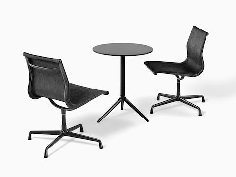 eames aluminum group outdoor seating herman miller. Black Bedroom Furniture Sets. Home Design Ideas