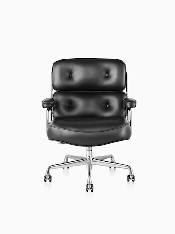 Black Eames Executive Chair.