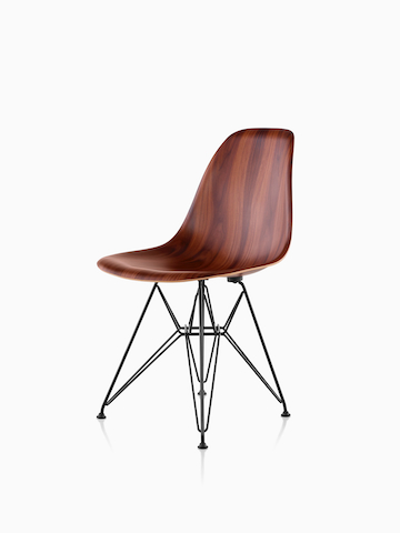 Eames Molded Wood Chair. Select to go to the Eames Molded Wood Chairs product page.