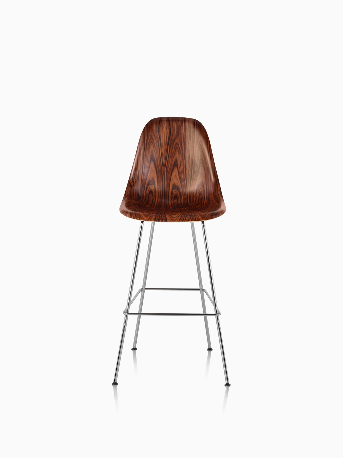 Banqueta Eames Molded Wood