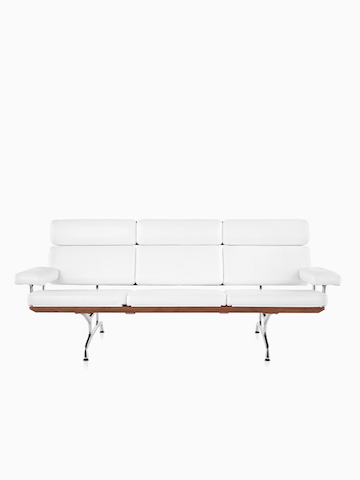 White Eames Sofa.