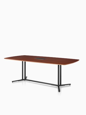 A rectangular Everywhere conference table.