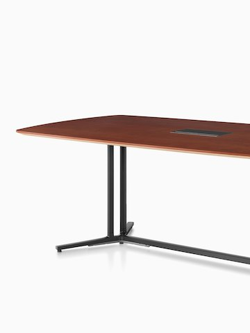 A rectangular Everywhere conference table. Select to go to the Everywhere Tables product page.