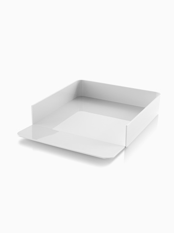 A white Formwork Paper Tray. Select to go to the Formwork Paper Tray product page.