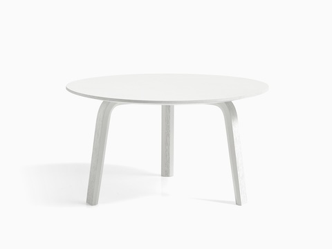 White Bella Coffee Table, viewed from the front.