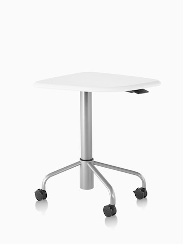 A mobile, height-adjustable Intent Solution table in a lowered position.