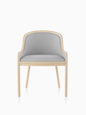 Light gray Landmark side chair.