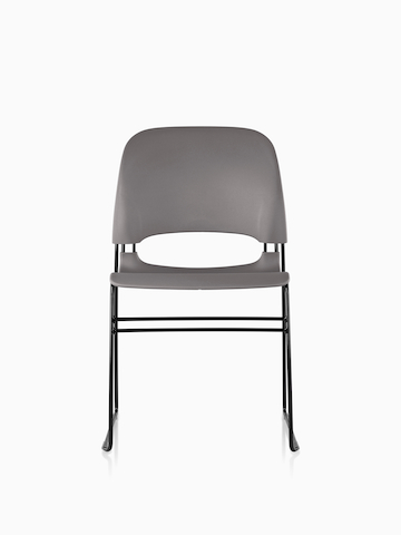 Gray Limerick side chair.
