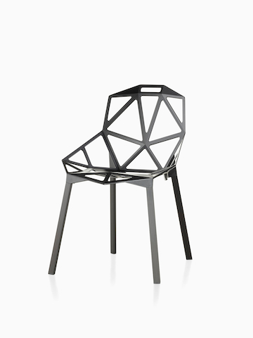 Black Magis Chair_One. Select to go to the Magis Chair_One product page.