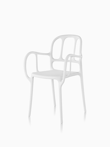 White Magis Milà Chair. Select to go to the Magis Milà Chair product page.