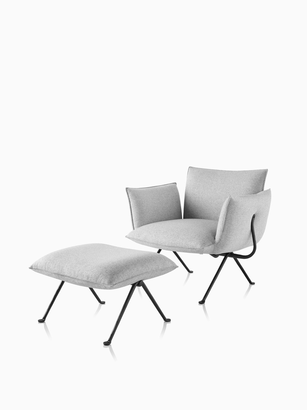 Magis Officina Armchair and Ottoman