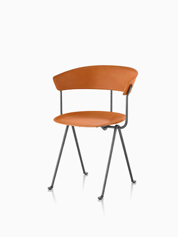 Orange Magis Officina Chair. Select to go to the Magis Officina Chair product page.