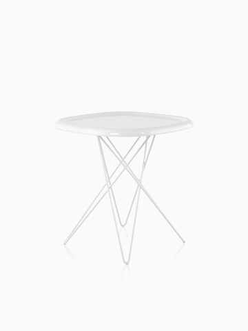 An oblong Magis Pizza Table with a white top. Select to go to the Magis Pizza Table product page.