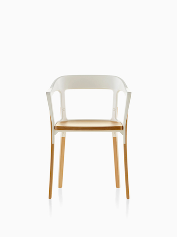 Acero y madera Magis Steelwood Chair.