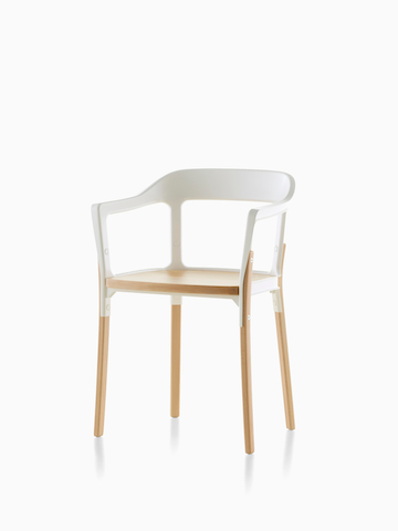 Steel and wood Magis Steelwood Chair. Select to go to the Magis Steelwood Chair product page.
