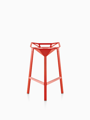 Red Magis Stool_One.