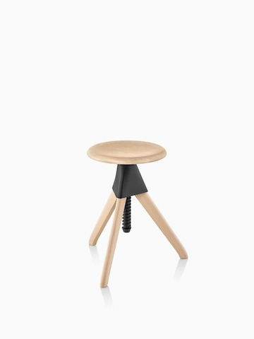 Magis Tom and Jerry Stool with a light wood finish. Select to go to the Magis Tom and Jerry Stool product page.