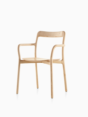 A wood Mattiazzi Branca Chair. Select to go to the Mattiazzi Branca Chair product page.