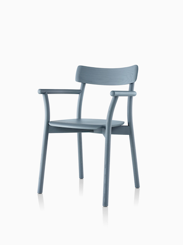Slate blue Mattiazzi Chiaro Chair. Select to go to the Mattiazzi Chiaro Chair product page.