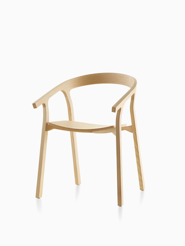 Wood Mattiazzi He Said Chair. Select to go to the Mattiazzi He Said Chair product page.
