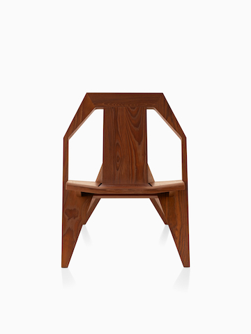 Wood Mattiazzi Medici outdoor chair.