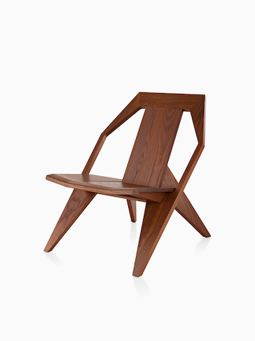 Wood Mattiazzi Medici outdoor chair. Select to go to the Mattiazzi Medici Seating Outdoor product page.