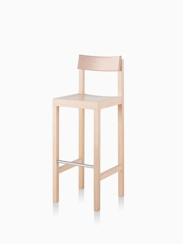 A light colored, bar height Mattiazzi Primo Stool. Select to go to the Mattiazzi Primo Stool product page.