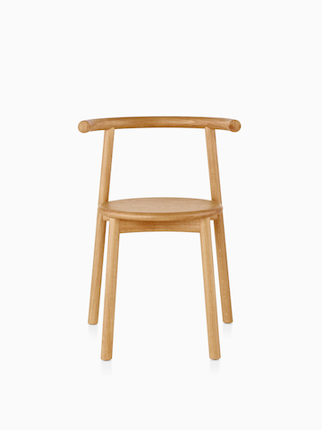 Wood Mattiazzi Solo Chair.