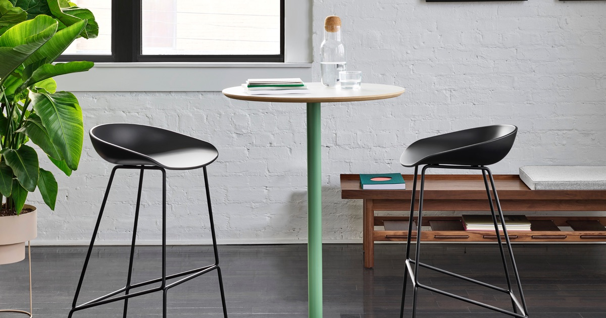 Ped Bar Height Table Occasional Tables Herman Miller