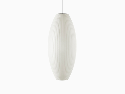 A medium Nelson Cigar Bubble Pendant lamp.