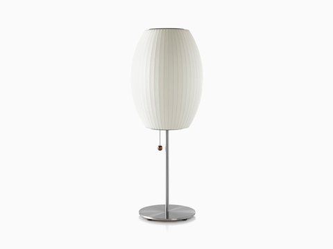 Nelson Cigar Lotus Table Lamp