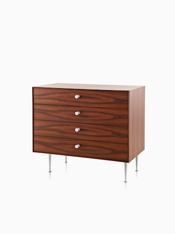 A four-drawer Nelson Thin Edge cabinet. Select to go to the Nelson Thin Edge Group product page.