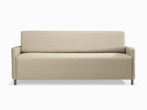 A beige-patterned Pamona Flop Sofa.