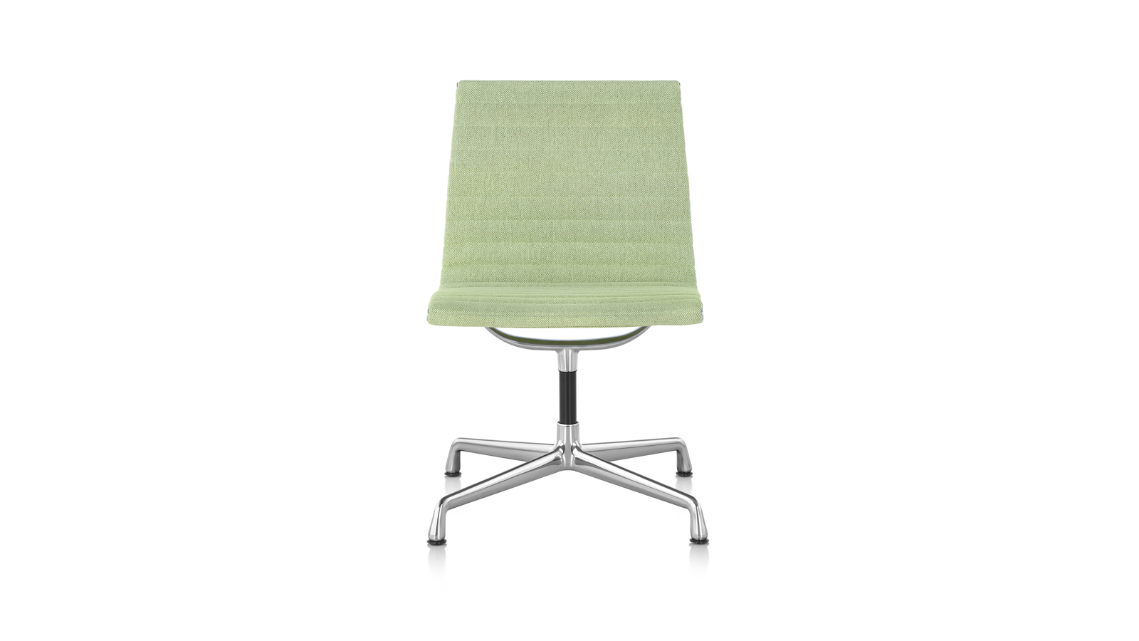 White sweep image of an Eames Aluminum Group Management Chair.