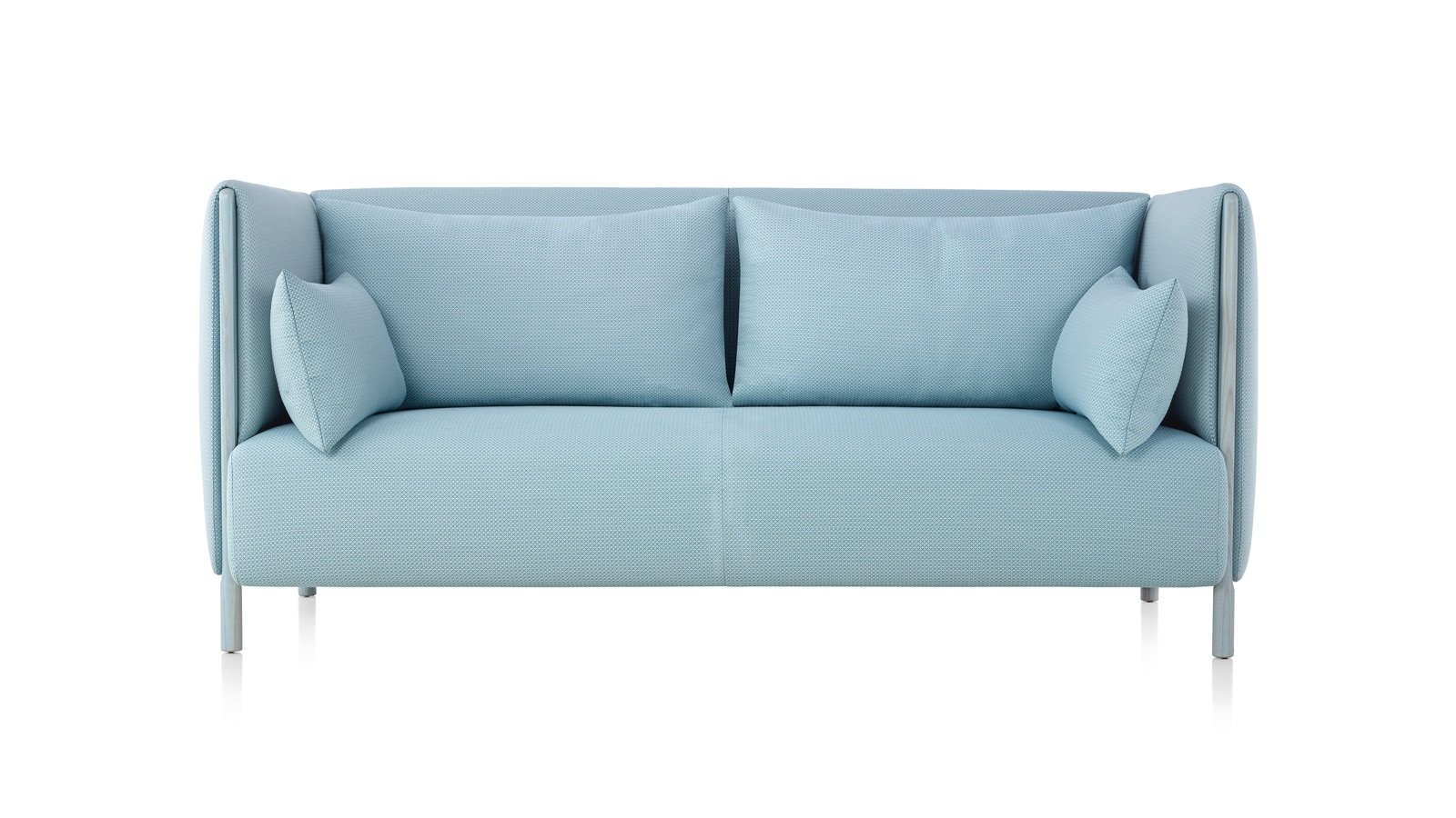 White sweep image of a two-seat sofa from the ColourForm Sofa Group.