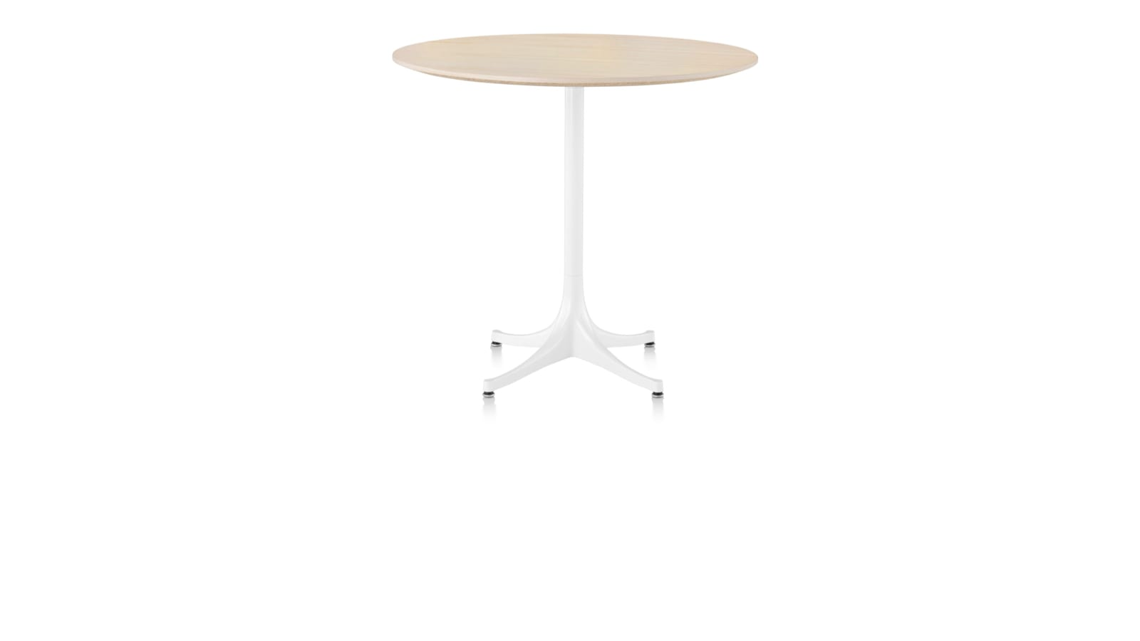 White sweep image of a Nelson Pedestal Table.