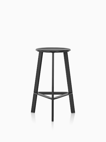 Black Prospect Stool. Select to go to the Prospect Stools product page.