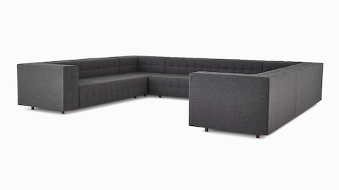 A Rapport sofa in a u-shaped configuration.