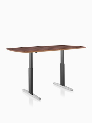 A rectangular Renew Sit-to-Stand Table. Select to go to the Renew Sit-to-Stand Tables product page.