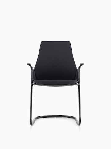 Black Sayl Side Chair.