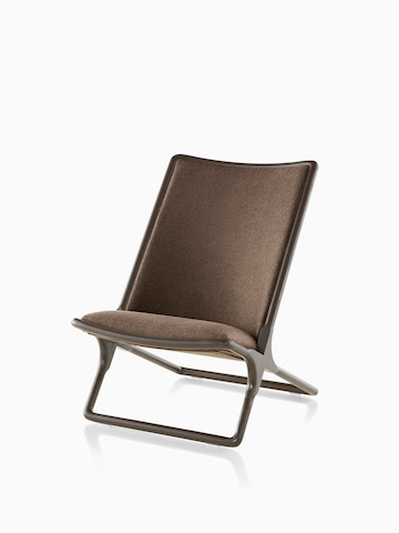 Brown Scissor Chair. Select to go to the Scissor Chair product page.