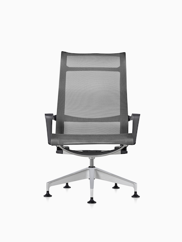 Gray Setu Lounge Chair.