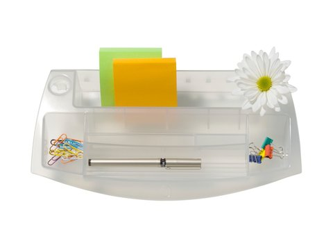 A small Storage Tray with five compartments and a bud vase.