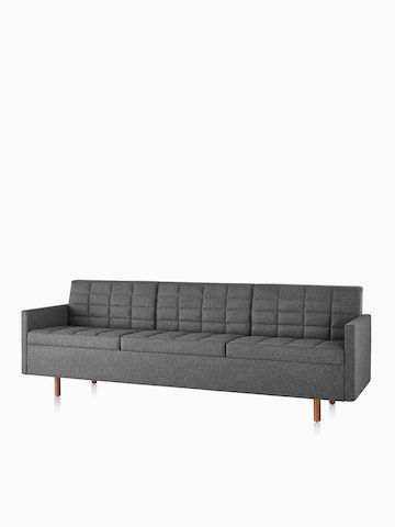 Black Tuxedo sofa. Select to go to the Tuxedo Classic product page.